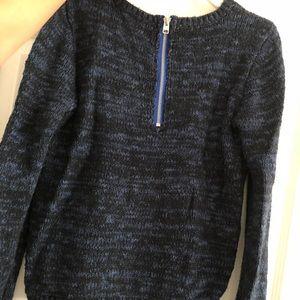 Navy/royal blue knit sweater!